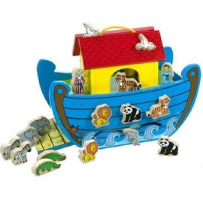 Bigjigs - Jucarie lemn Arca lui Noe 2