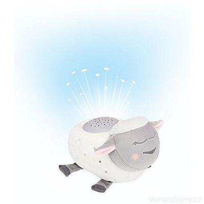 Badabulle - Lampa de noapte cu muzica si lumini Oaia