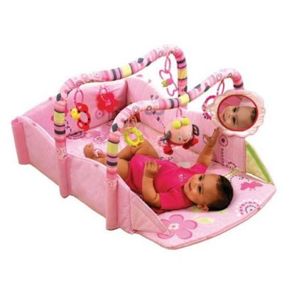 Bright Starts - Salteluta educativa 5 in 1 Baby s Play Place