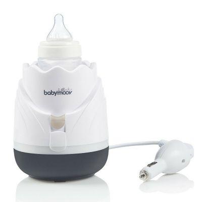Babymoov - Incalzitor de biberoane si recipiente pentru casa si masina Tulip Cream