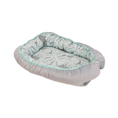 BabyMatex - Suport somn BabyNest Soft Grey Palm