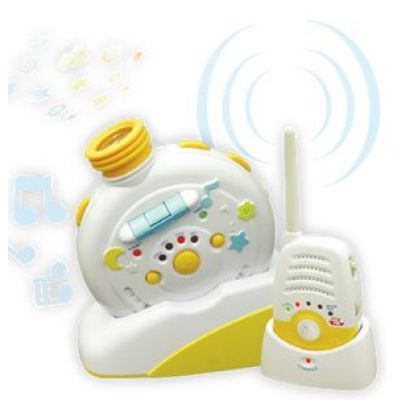 Primii Pasi -  Interfon camera copil cu proiector