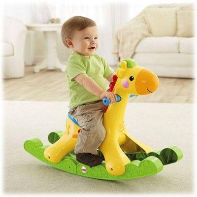 Fisher Price - Balansoar Rockin Tunes Giraffe