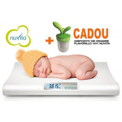 Nuvita - Cantar electronic + Cadou dispozitiv Flavorillo