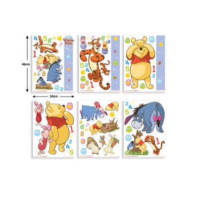 Walltastic - Stickere decorationale Winnie the Pooh