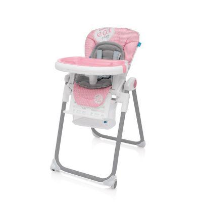 Scaun de masa Lolly Baby Design Pink