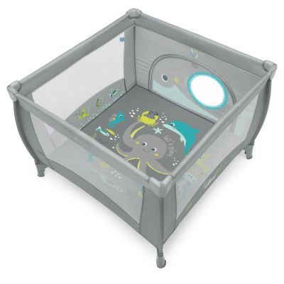 Tarc de joaca Play Baby Design Gray