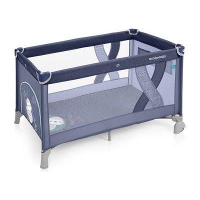 Patut pliabil un nivel Simple Blue Baby Design