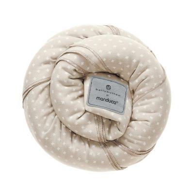 Wrap elastic pentru purtarea bebelusului Manduca BellyButton WildCrosses