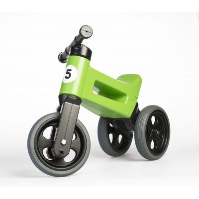 Vehicol fara pedale Rider Sport 2 in 1 Funny Wheels Green