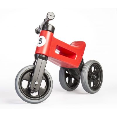 Vehicol fara pedale Rider Sport 2 in 1 Funny Wheels Red