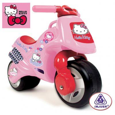 Injusa - Bicicleta fara pedale Hello Kitty