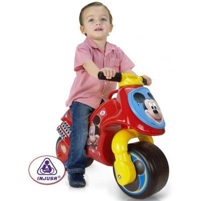 Injusa - Bicicleta fara pedale Neox Mickey Clubhouse