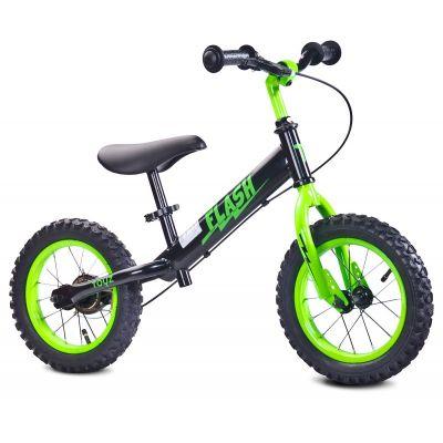 "Bicicleta fara pedale Toyz Flash 12"" green"