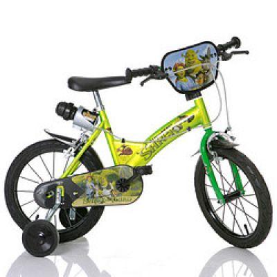 Dino Bykes - Bicicleta Shrek 16''