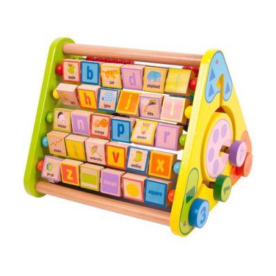 Big Jigs - Centru de activitati cu litere si imagini