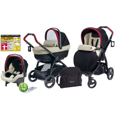 Peg Perego - Carucior 3 in 1 Book Plus Modular Fiat 500