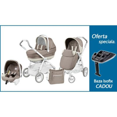 Peg Perego - Carucior 3 in 1 Book Pure