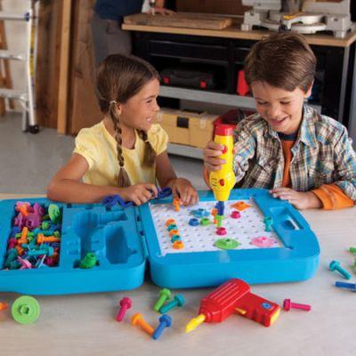 Educational Insights - Bormasina Magica  atelier de construit modele