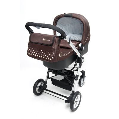 KinderKraft - Carucior 3 in 1 Kraft 4 brown