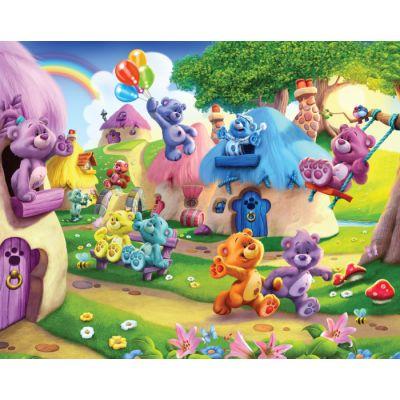 Walltastic - Tapet pentru copii Ursuleti cu Nasturei
