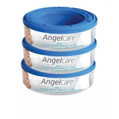 Angelcare Rezerva pentru cos ermetic scutece murdare - set 3 buc