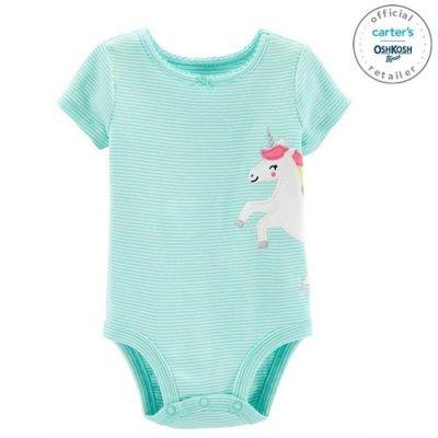 Body unicorn 100% bumbac Carters