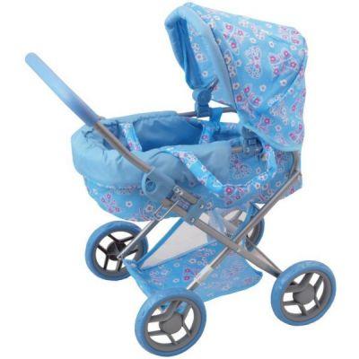Baby Mix - Carucior pentru papusi Blue Butterfly