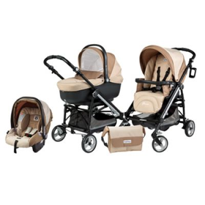 Peg-Perego - Carucior 3 in 1 Pliko on Track Easy Drive Promo