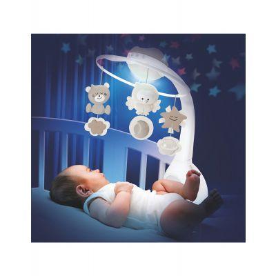 Carusel muzical cu proiector si lampa de veghe Infantino