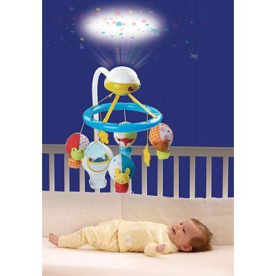 Carusel muzical cu proiector si senzor de sunet Noapte Buna Bebe Vtech