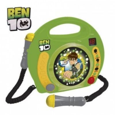 Reig Musicales - CD Player Ben 10 cu 2 microfoane