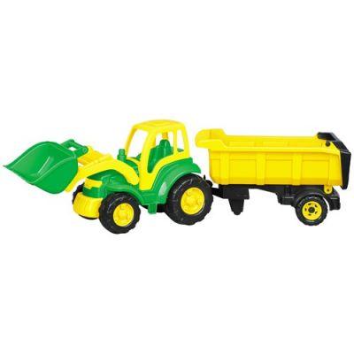 Gozan - Champion - Tractor cu cupa si semiremorca