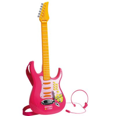 Bontempi - Chitara Electronica cu Microfon si Casca IGirl