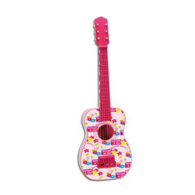 Bontempi - Chitara spaniola roz cu 6 corzi iGirl