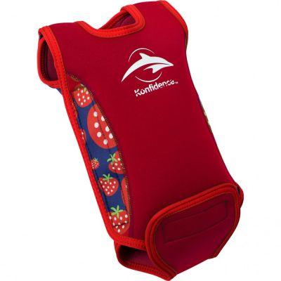 Konfidence - Costum termoreglabil din neopren pentru bebelusi BabyWarma strawberry