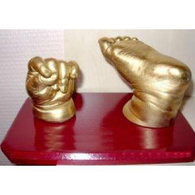 Cromo - Amprenta Mulaj 3D Sculptura Duo