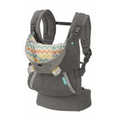 Marsupiu ergonomic cu gluga detasabila Infantino Cuddle Up