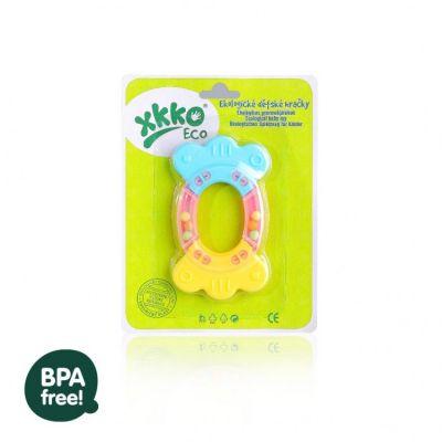 Xkko - Jucarie dentitie din materiale ECO 100% biodegradabil