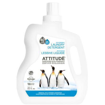 Attitude - Detergent rufe Lavanda si Grapefruit 1800 ml