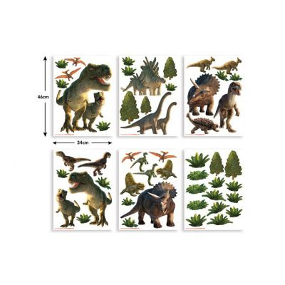 Walltastic - Stickere decorationale Lumea Dinozaurilor