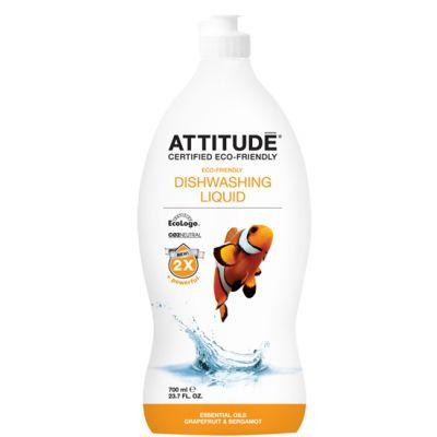 Attitude - Detergent lichid de vase Grapefruit si Bergamota 700 ml