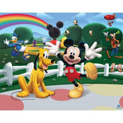 Walltastic - Tapet pentru copii Disney Mickey Mouse Clubhouse