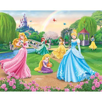 Walltastic - Tapet pentru copii Printesele Disney