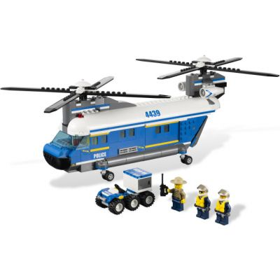 Lego - City elicopter utilitar