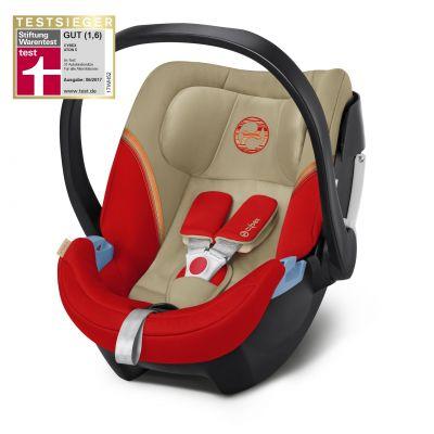 Scoica auto Cybex Aton 5 pentru bebelusi prematuri Atumn Gold