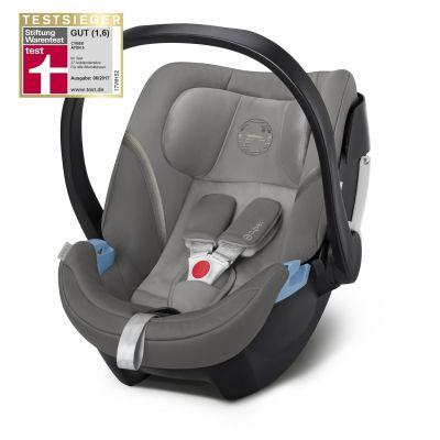 Scoica auto Cybex Aton 5 pentru bebelusi prematuri Soho Grey