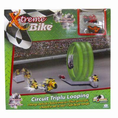 Noriel - Xtreme Bike Circuit triplu Looping