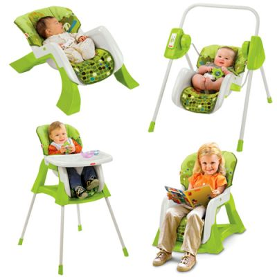 Fisher Price - Bundle 4in1 EZ Baby System