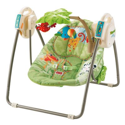 Fisher Price - Leagan Open Top Take Along Rainforest